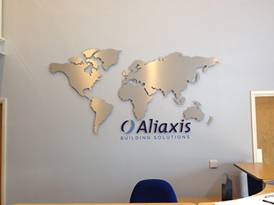 Alaxis Internal Sinage